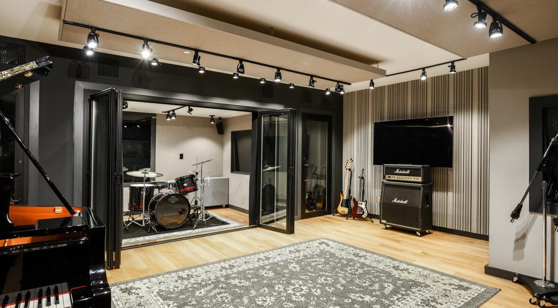 Recording studio - High-End Design Build