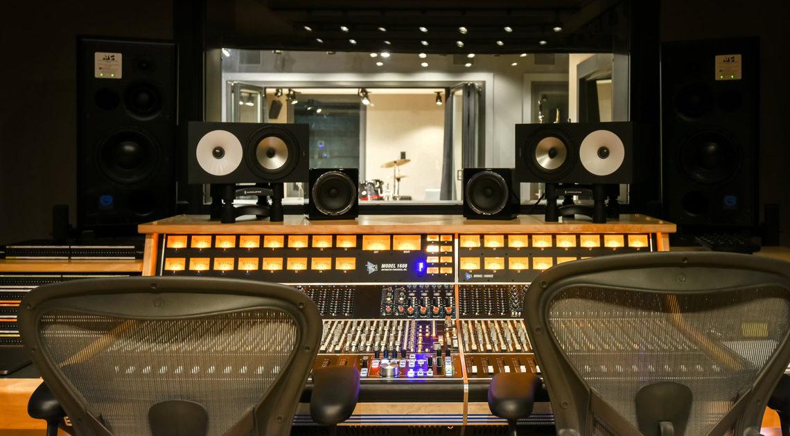 Sound proof recording studio
